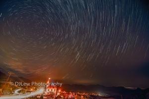 Stars over Virginia City